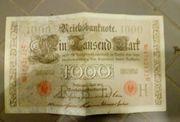 1000 Reichsmark Berlin 20 April