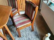 Tisch 6x Stühle Polsterstühle mit
