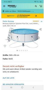 Stahlwand Pool ohne Innenfolie mit