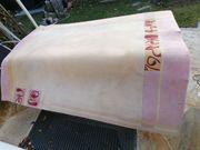 Flauschiger Woll-Teppich