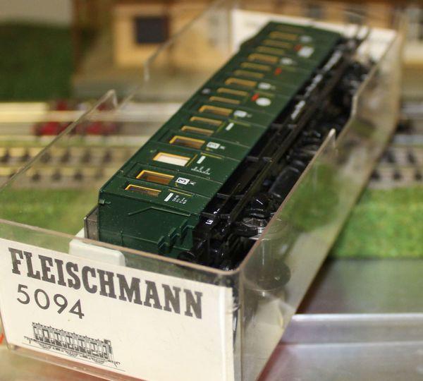 5092 Fleischmann DRG Abteilwagen 3-achs