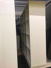 2 IKEA SCHACHBRETT REGAL WEISS