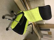 Schöner Leder Bürostuhl neuwertig günstig
