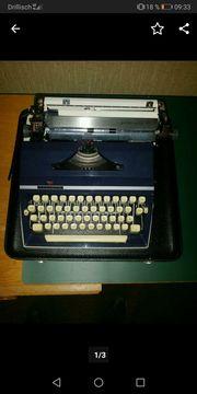 Schreibmaschine Fa Triumph
