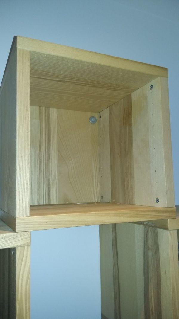 Holz Wurfel Regale In Konigs Wusterhausen Ikea Mobel Kaufen Und