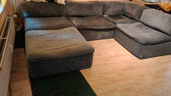 Couch Sofa Quattro Schaumstoff Lübke