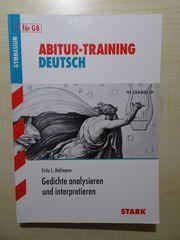 Abiturvorbereitung Deutsch Bayern - Gedichte analysieren