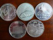 10EUR Münzen Satz 2002