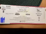 2 Metallica Eintrittskarten für 23