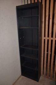 Bücherregal Holzimitat schwarz vgl Fotos