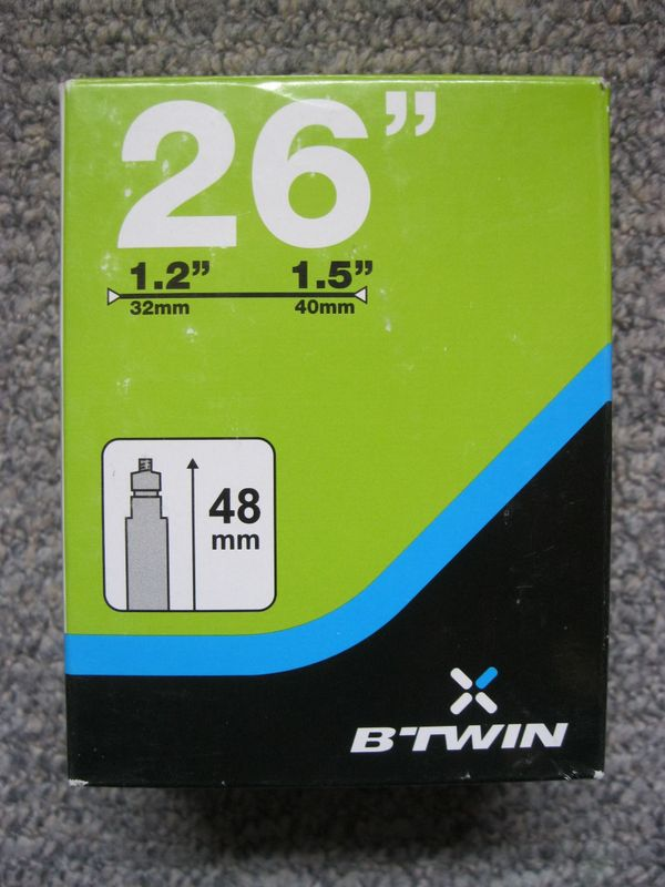 Fahrradschlauch 26x1 2 1 5