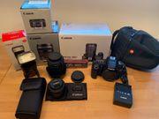 Canon EOS70D 2 Objektive Speedlite