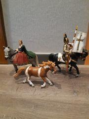 Schleich Pferde Ritter Königen zu
