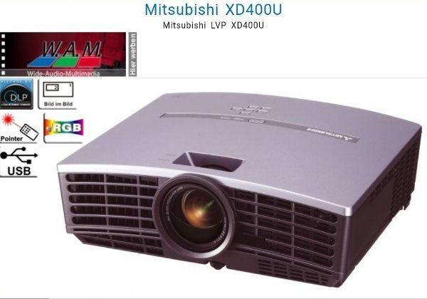 Mitsubishi XD400U Beamer Projector