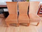 4 Stühle Rattan