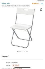 Ikea 2tlg Klappstuhl
