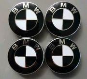 4x BMW Nabendeckel Felgendeckel Nabenkappen