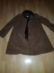 Damen Mantel reine Schurwolle