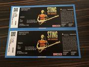 2 Tickets Sting Forchheim