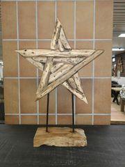 Unikat - Ein Stern ganz aus Holz