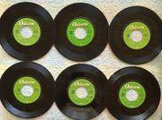 6 Single-Schallplatten BEATLES 60er-Jahre