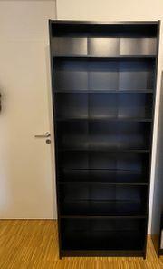 IKEA Billy Bücherregal schwarzbraun 80x28x202cm