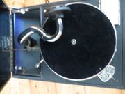 Koffergrammophon Reisegrammophon Salon Decca London