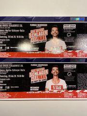 2 Tickets Florian Silbereisen Schlagerfest
