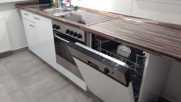 Komplette Küche Zweizeiler mit allen Elektrogeräten ...