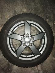 4xAlufelgen von Rial mit Reifen