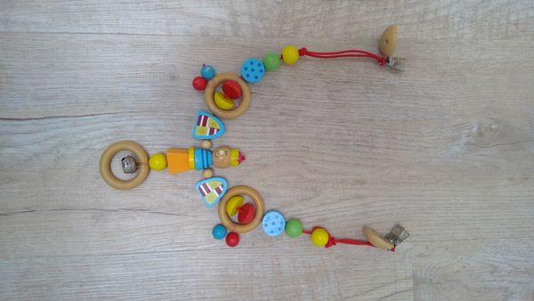 Kinderwagenkette Holz