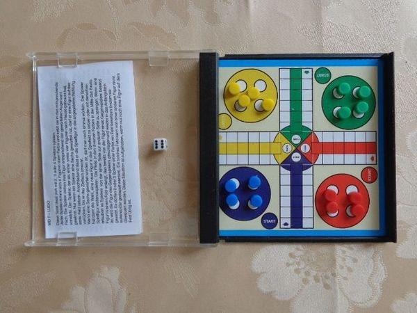 Mini-Magnet-Spiel Art Mensch ärgere dich