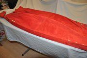 Damen Trachten-Wildlederhose lang rot