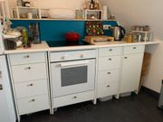 IKEA fyndig Küche weiß inkl