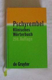 Pschyrembel Klinisches Wörterbuch gebr 259