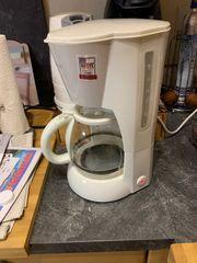clatronic Kaffeemaschine weiß