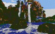 Vorlage für Ministeck Blue Lagune