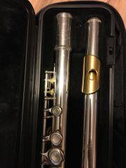 Queflöte Yamaha Plutus PLU1 vergoldete