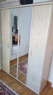 Spiegel Kleider Schrank b 130cm