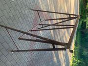 Eisenböcke Gerüsthöhe verstellbar