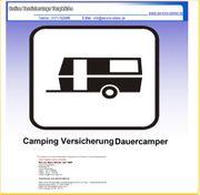Camping Versicherung für Dauercamper online