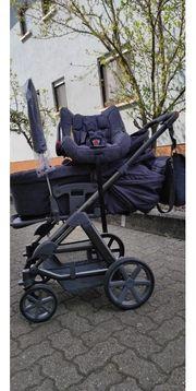 Kinderwagen komplett Set abc