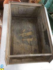 Lager fix Metall Sichtlagerkasten