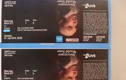 Ariana Grande 2 Sitzplatzkarten Oberrang