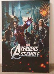 Marvel Avengers Assemble Bild 60x90cm