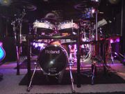 Superschönes weisses Roland TD20x E-Drumset