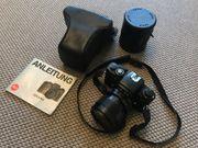 Analoge Leica Spiegelreflex R4 mit