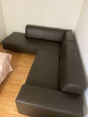 Gelegenheit Leder Couch Ledercouch mit