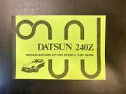 Bedienungsanleitung Datsun 240Z Modell S30