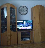 Wohnwand 4teilig in Erle